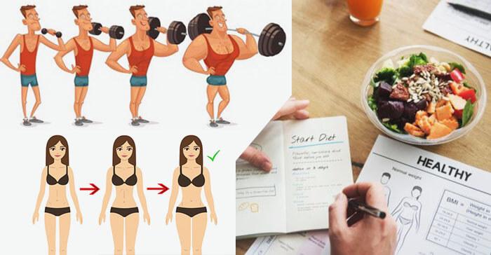 Chế độ ăn tăng cân cho người tập gym bạn nên biết