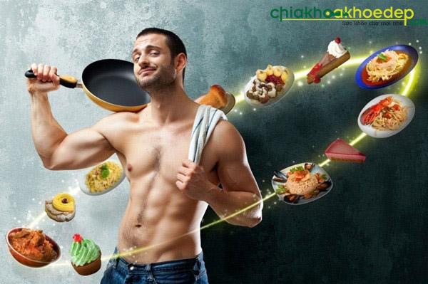 Chế độ ăn cho nam giúp tăng cân và tăng cơ hiệu quả khoa học