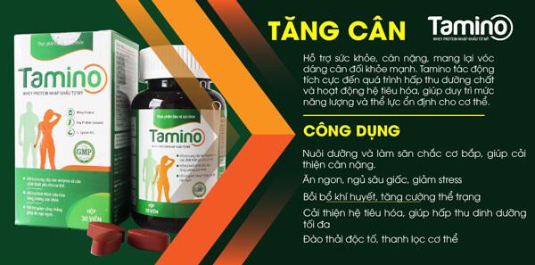 Công dụng vượt trội của viên uống Tamino