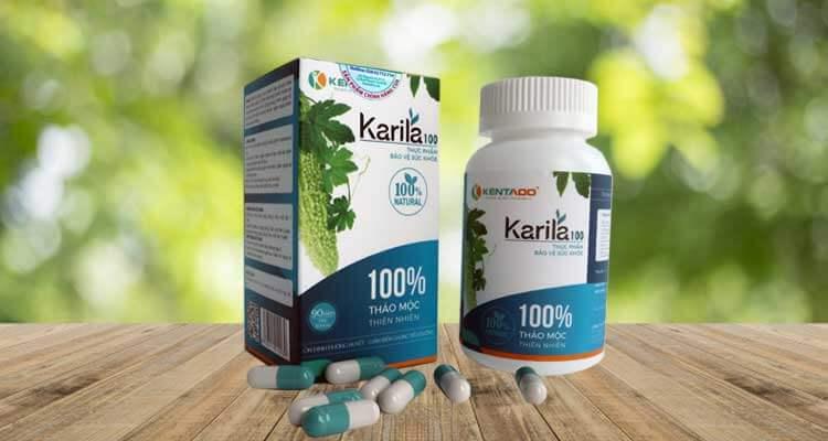 Thuốc điều trị bệnh đái tháo đường Karila 100
