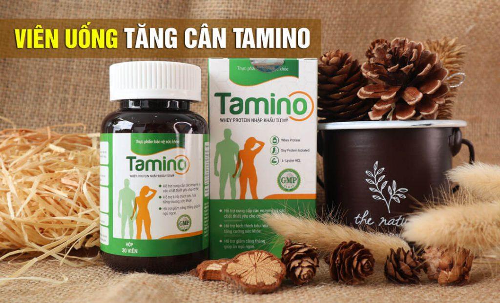 Viên uống tăng cân Tamino giải pháp tăng cân hiệu quả