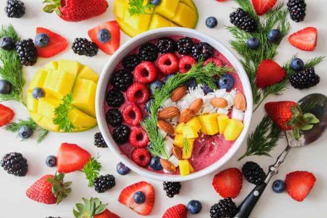 Các loại ngũ cốc và rau quả