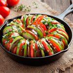 thức ăn khuya giúp tăng cân - salad