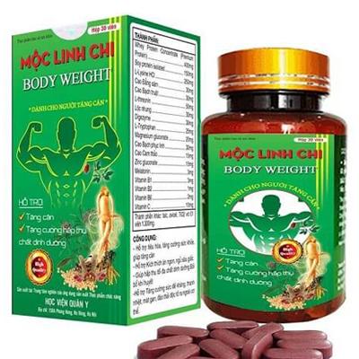 Mộc linh chi: thuốc bổ tăng cân dành cho người gầy